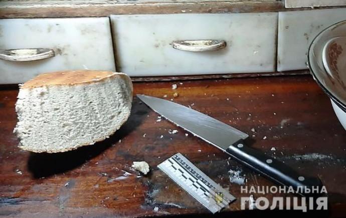 В Николаевской области женщина ударила мужа ножом