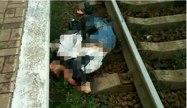 В Киеве молодого мужчину сбил поезд