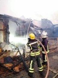 В Одесской области произошел пожар на базе отдыха